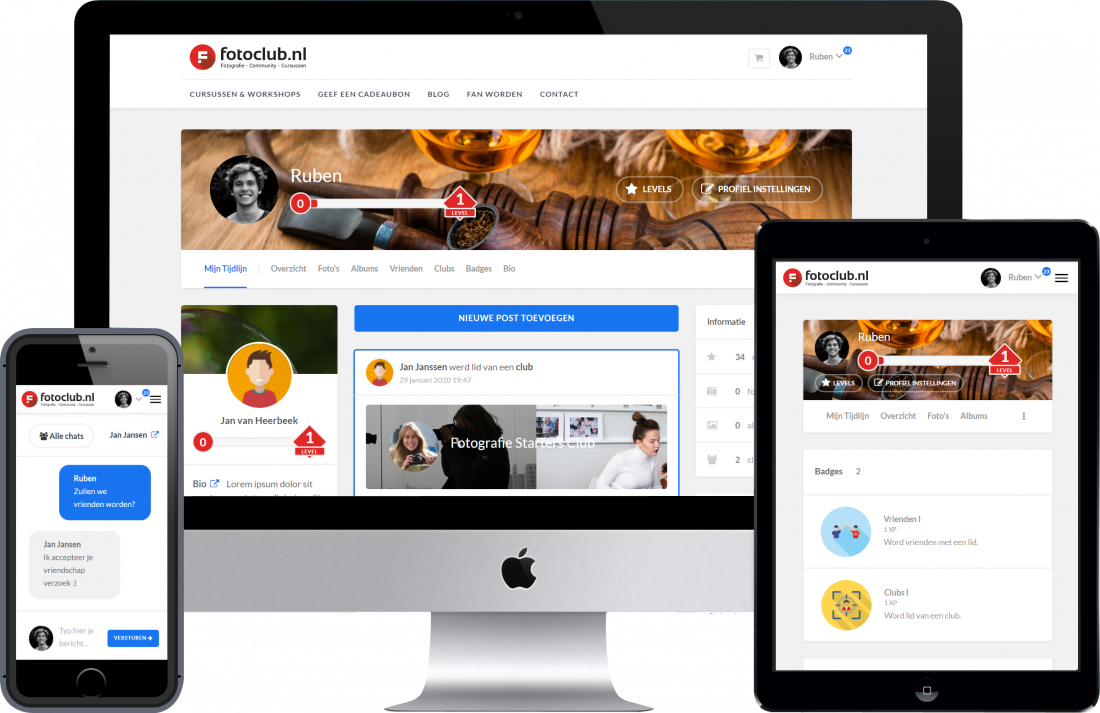 Fotoclub Social Media Platform